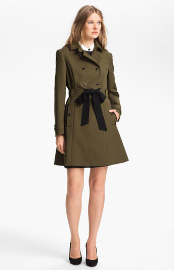 Belted Cotton Trench Coat $595